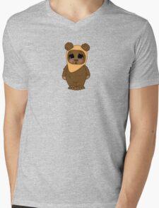 Cute Little Ewok Mens V-Neck T-Shirt