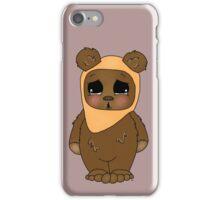 Cute Little Ewok iPhone Case/Skin