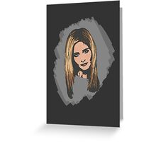 Buffy, The Slayer: Reborn Greeting Card