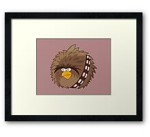Chewie the Determined Bird Framed Print