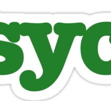 My Friend is PSYCH Sticker