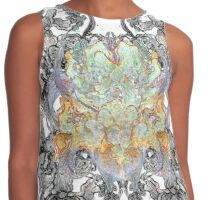 Psychedelic bouquet Contrast Tank