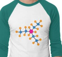 FAP Molecular Structure Men's Baseball ¾ T-Shirt