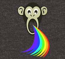 Monkey Vomiting Rainbows Unisex T-Shirt