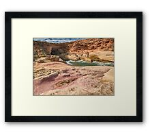 Woolshed Cave Framed Print