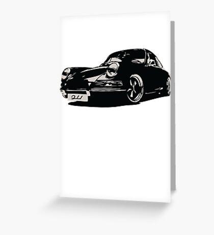 Porsche 911 classic german automotive design Greeting Card
