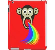 Monkey Vomiting Rainbows iPad Case/Skin