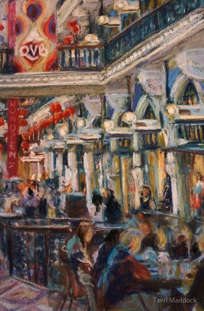 Afternoon tea at the QVB by Terri Maddock