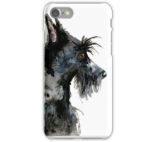Scottish Terrier Dog iPhone Case/Skin
