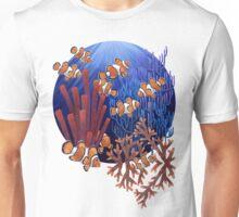 Clown fish tank Unisex T-Shirt