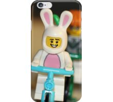 Bicycle Ride with the Easter Bunny and Friends iPhone Case/Skin