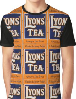 Old style Lyons' Tea Advertisement Graphic T-Shirt
