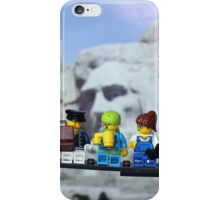 High-rise lunch break, Mt Rushmore iPhone Case/Skin
