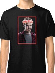 Benedict Cumberbatch in a Flower Crown Classic T-Shirt