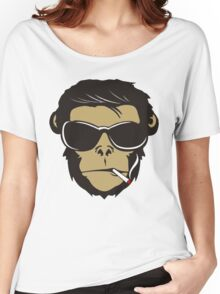 Cool Cigar Monkey Women's Relaxed Fit T-Shirt