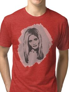 Buffy, The Slayer: Reborn II Tri-blend T-Shirt