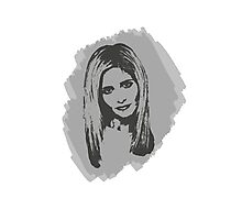 Buffy, The Slayer: Reborn II Photographic Print