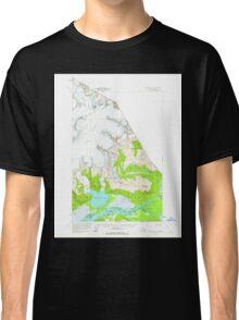 USGS TOPO Map Alaska AK Taku River C-6 359506 1960 63360 Classic T-Shirt