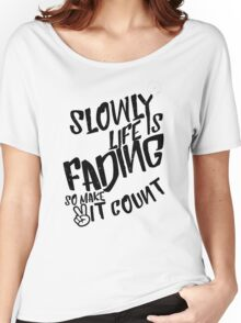 Shirt w/ Quote - datgix Women's Relaxed Fit T-Shirt