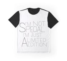 i'm a limited edition Graphic T-Shirt