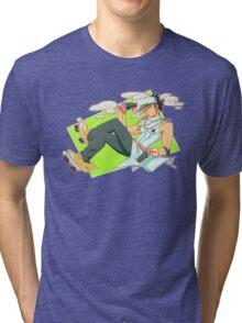 Jotaro Kujo Tri-blend T-Shirt