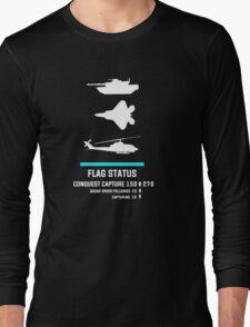 Gamer - Capture the Flag Long Sleeve T-Shirt