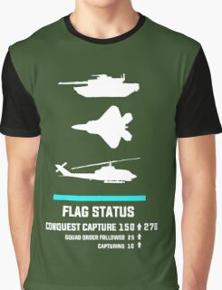 Gamer - Capture the Flag Graphic T-Shirt