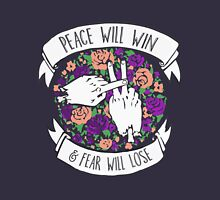 Twenty one peace will win floral Unisex T-Shirt