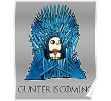 Gunter is Coming Poster