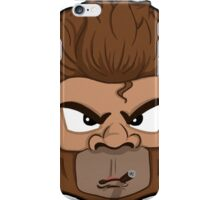 Cool Monkey With Cigar iPhone Case/Skin