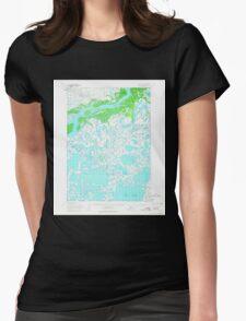 USGS TOPO Map Alaska AK Bethel C-8 354457 1954 63360 Womens Fitted T-Shirt