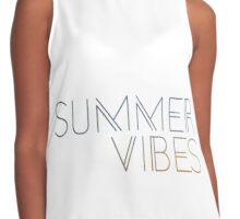 Summer Vibes Contrast Tank