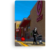 Rude Boy Goes to Target Canvas Print