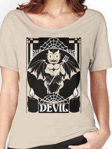 Devil Women's Relaxed Fit T-Shirt