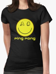Ping Pong Womens Fitted T-Shirt