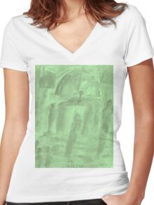 Gathering Women's Fitted V-Neck T-Shirt