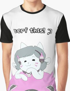 nerF tH1s! ;3 Graphic T-Shirt