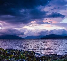 Rothesay Bay view I by Angie Morton