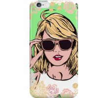 Taylor swift floral iPhone Case/Skin