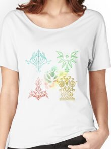 Tales of Zestiria - Elemental and Shepherds sigils Women's Relaxed Fit T-Shirt