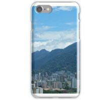 Christ The Redeemer Looking Down on Rio iPhone Case/Skin