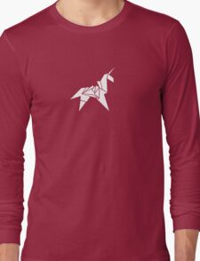 Origami Long Sleeve T-Shirt