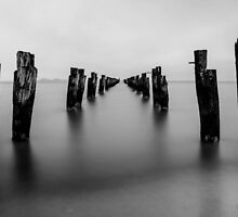 Clifton Springs pylons by lawsphotography