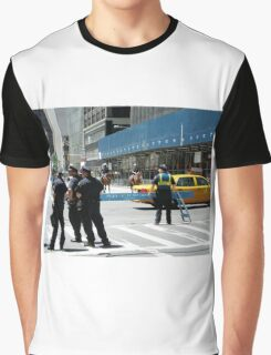 Do Not Cross - Police Line Graphic T-Shirt
