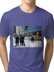 Do Not Cross - Police Line Tri-blend T-Shirt