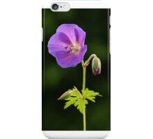 Geranium in Flower iPhone Case/Skin