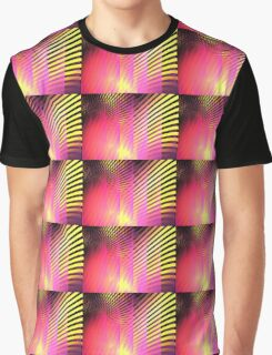 Pink Skyscrapers Graphic T-Shirt