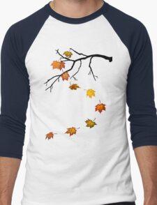 Autumn Leaves Men's Baseball ¾ T-Shirt