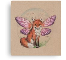 Sly Fox? Flying Fox? FoxFly. Canvas Print