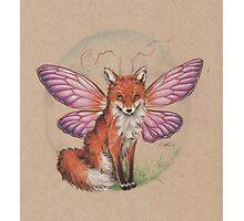 Sly Fox? Flying Fox? FoxFly. Photographic Print